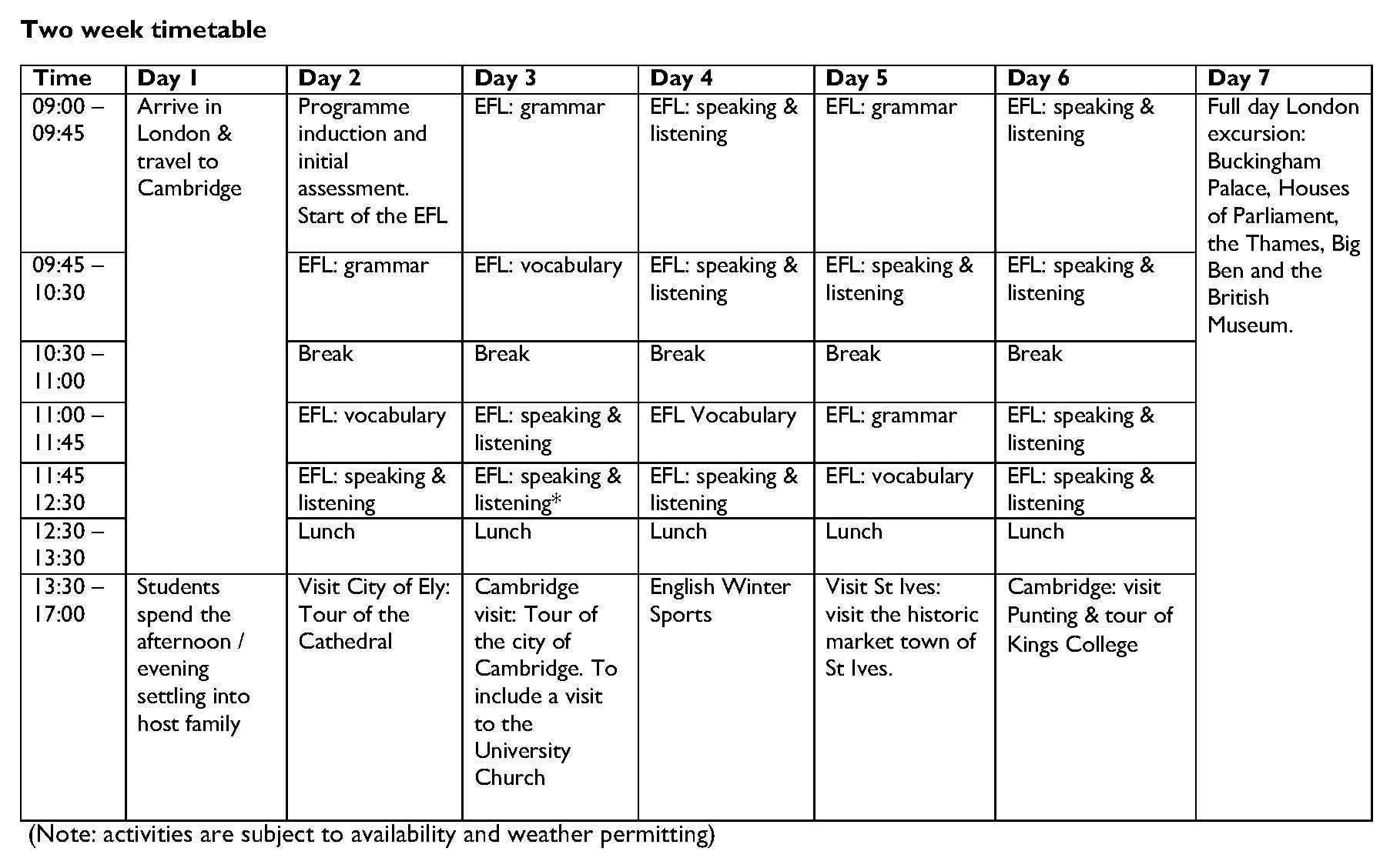 Sample timetable - 2 weeks Winter Camp _페이지_1.jpg